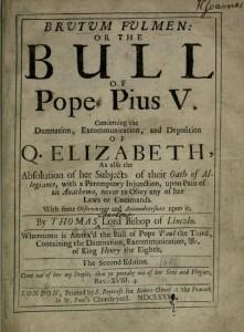 papal bull