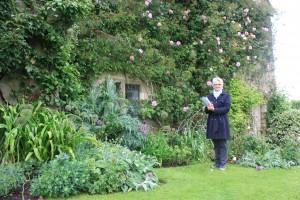 Markenfield garden guide Kate Mainprize