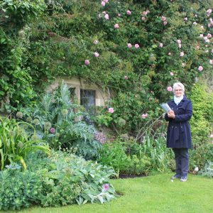 Markenfield garden guide Kate Mainprize
