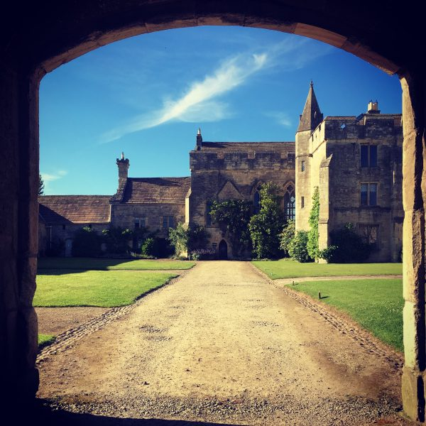 The view through the Gatehouse