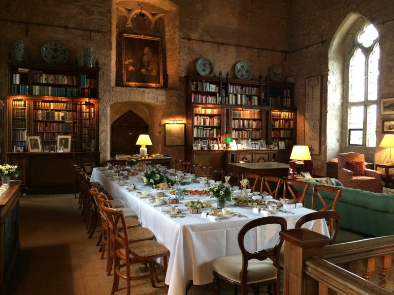 Wedding Breakfast in the Great Hall