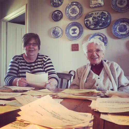 Two of our Archive Volunteers